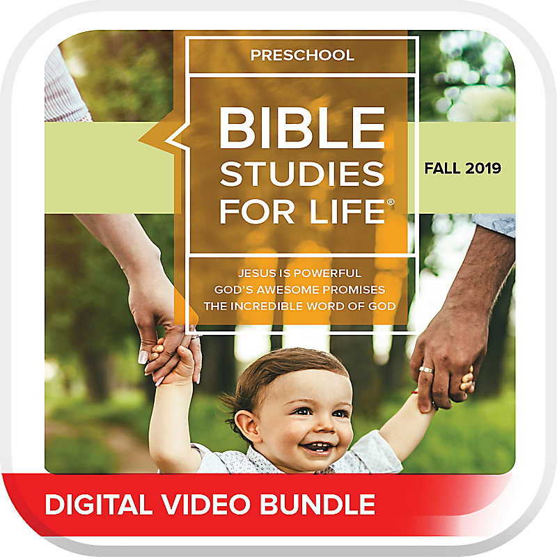 Bible Studies for Life: Preschool Life Action Videos Fall 2019
