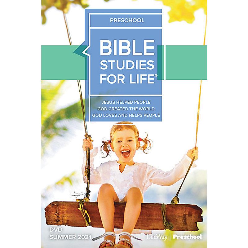 Bible Studies For Life: Preschool Life Action DVD Summer 2021