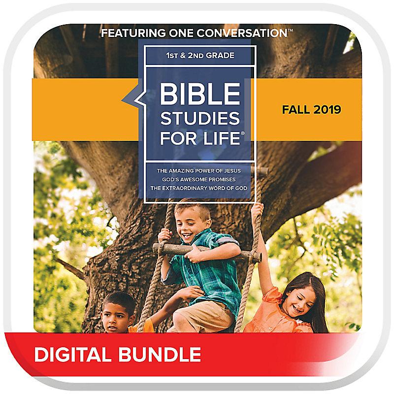 Bible Studies for Life: Kids Grades 1-2 Leader Pack Digital Fall 2019