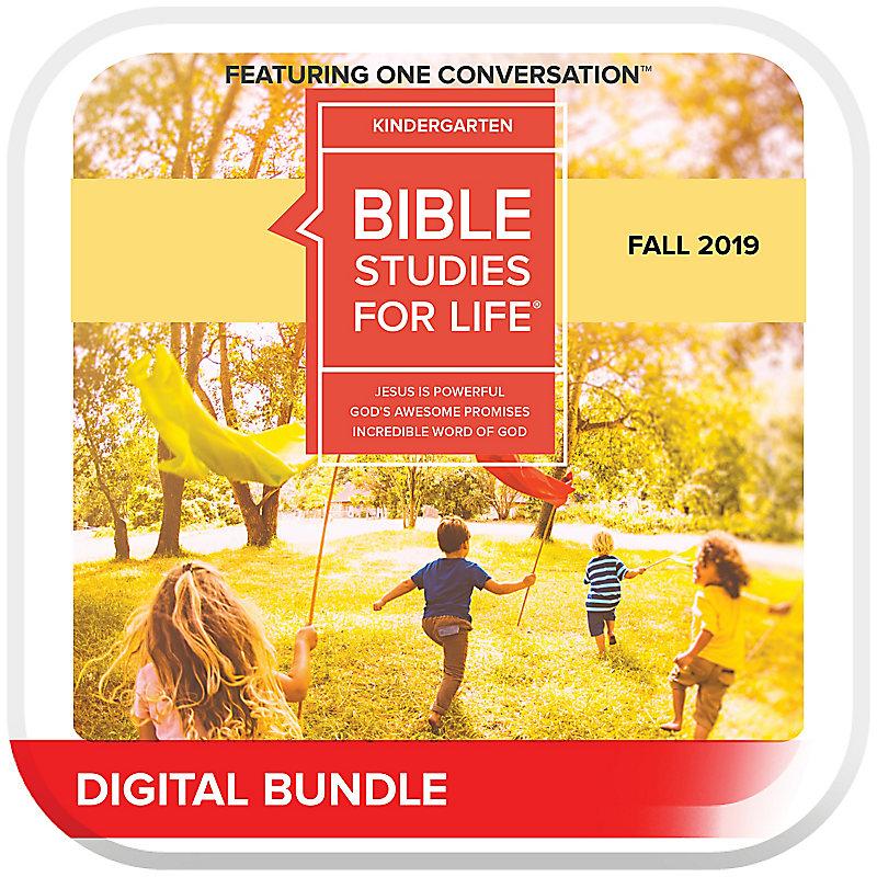 Bible Studies for Life: Kindergarten Leader Pack Digital Fall 2019