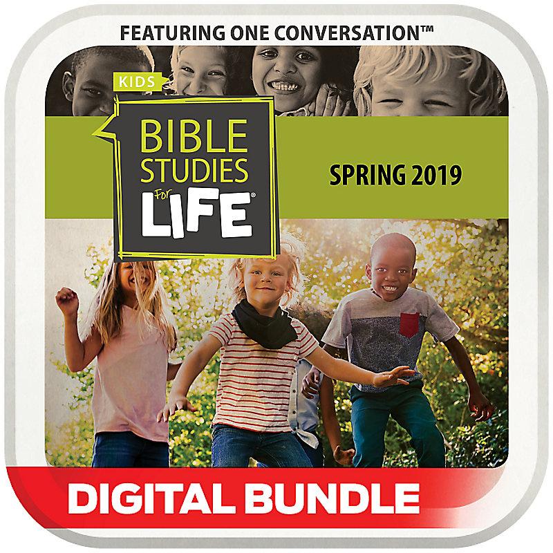 Bible Studies for Life: Kindergarten Leader Pack Digital Spring 2019