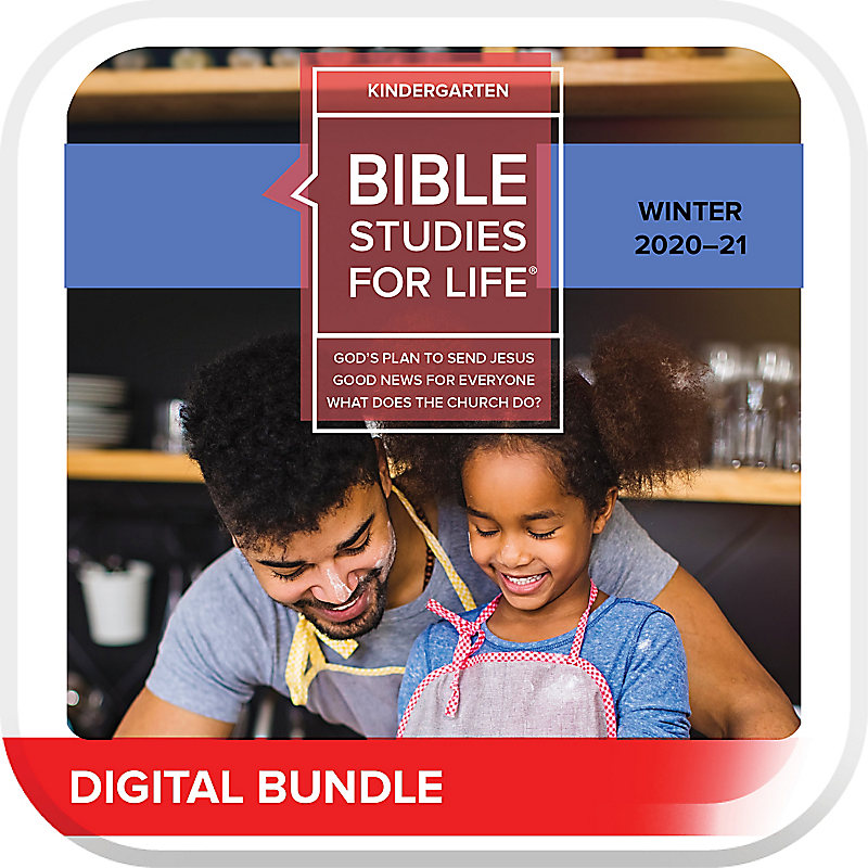 Bible Studies for Life: Kindergarten Leader Pack Digital Winter 2021