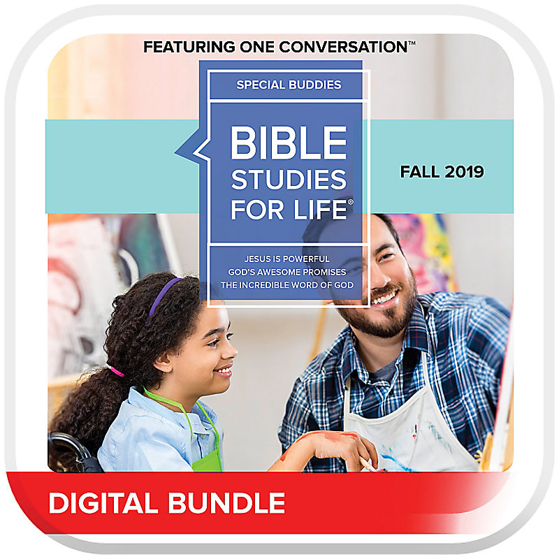 Bible Studies for Life: Kids Special Buddies Leader Guide/Acivity Pages Fall 2019