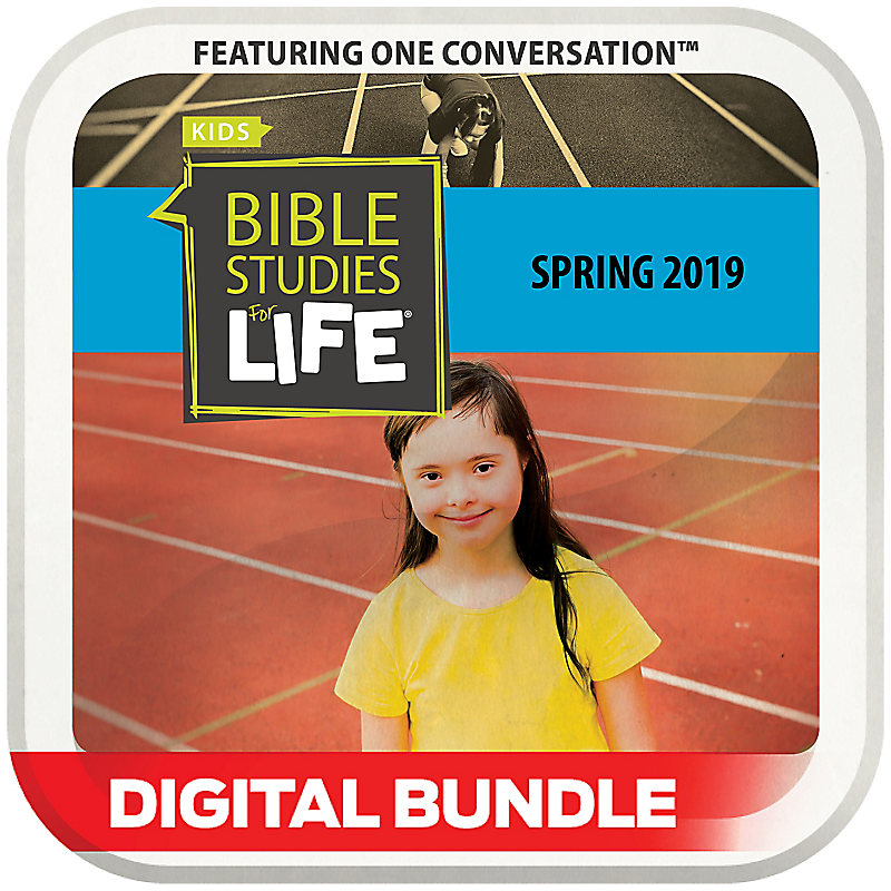 Bible Studies for Life: Kids Special Buddies Leader Guide/Activity Pages Spring 2019