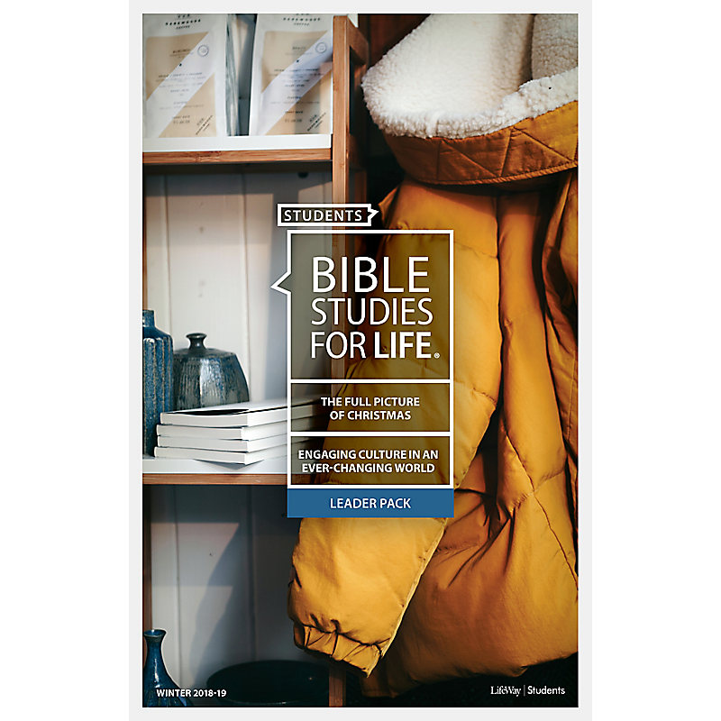 Bible Studies for Life: Students Leader Pack - Winter 2019 (Digital Bundle)