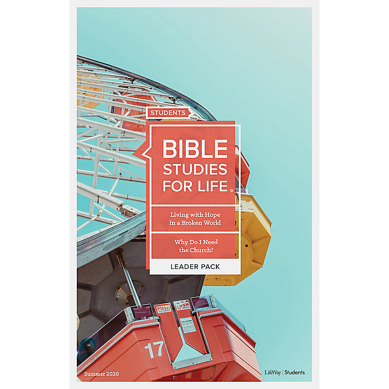 Bible Studies for Life: Students Leader Pack Digital Bundle - Summer 2020