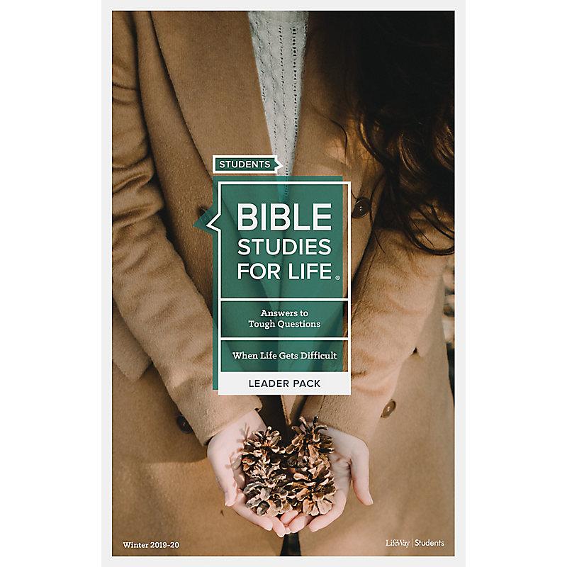 Bible Studies for Life: Students Leader Pack - Winter 2020 (Digital Bundle)