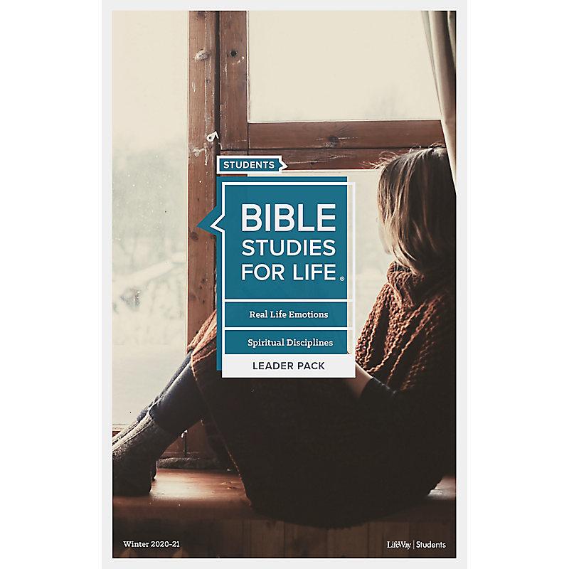 Bible Studies for Life: Students - Leader Pack - Winter 2020-21 - Digital