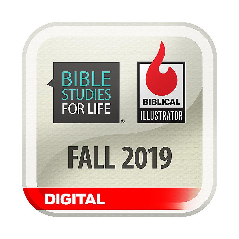 Biblical Illustrator for Bible Studies for Life - Fall 2019 - Digital