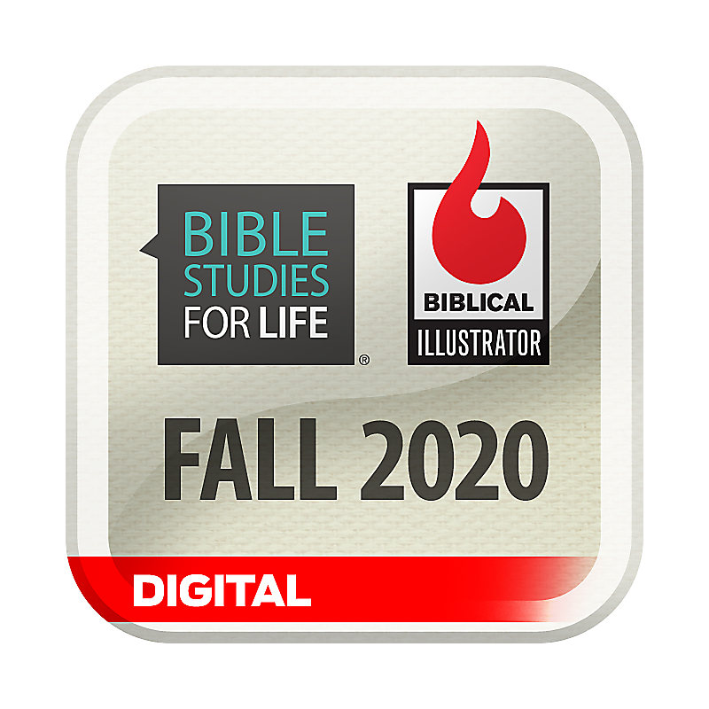 Biblical Illustrator for Bible Studies for Life - Fall 2020 - Digital