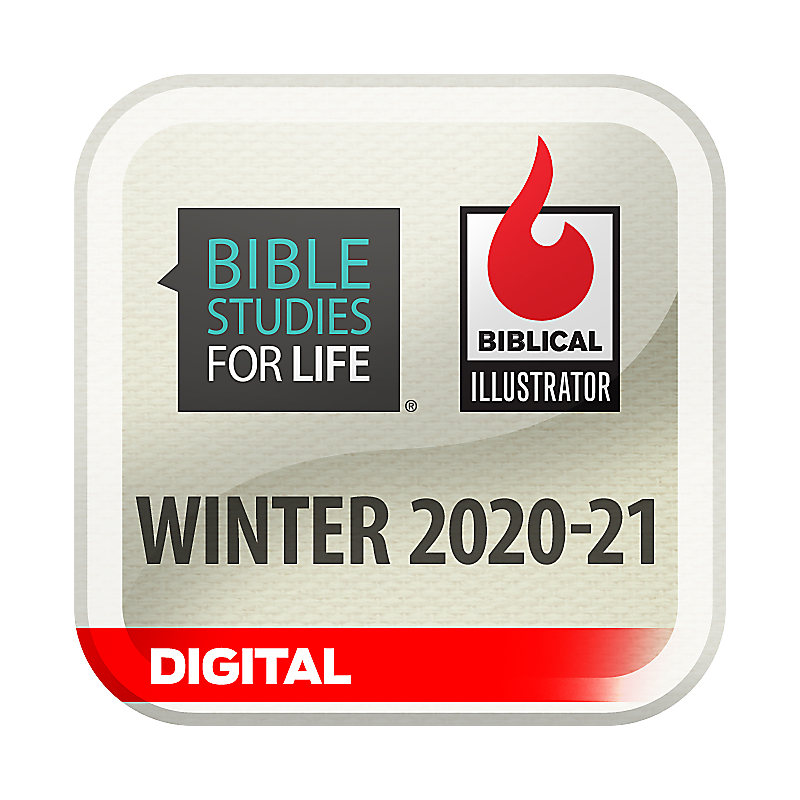 Biblical Illustrator for Bible Studies for Life - Winter 2021 - Digital