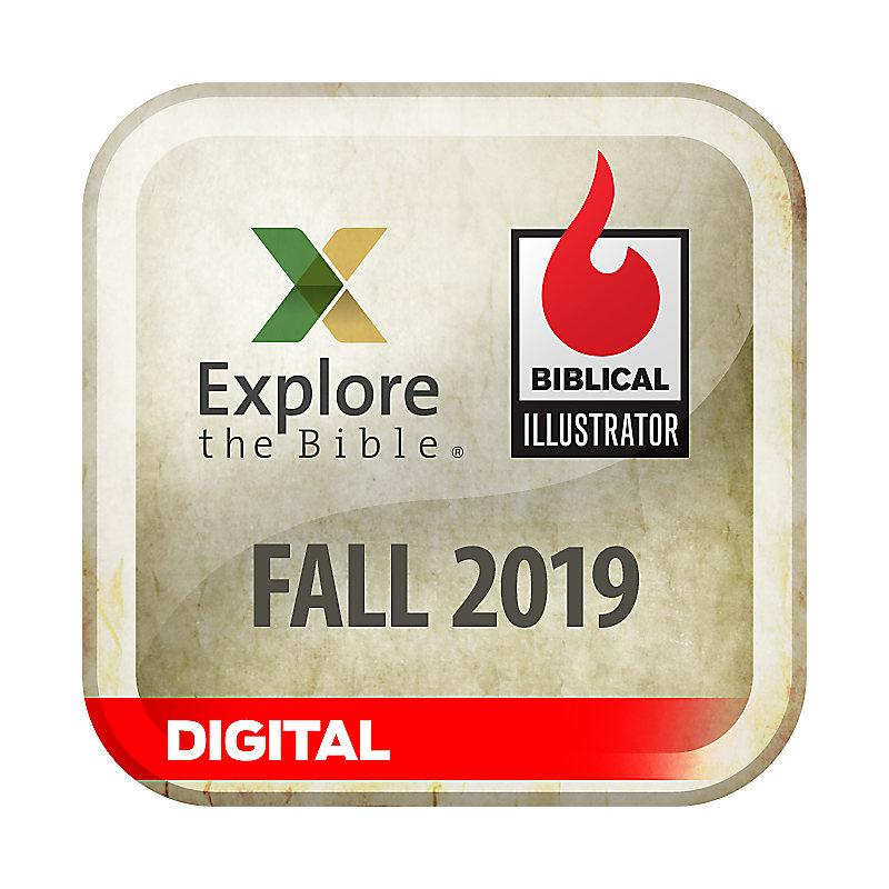Biblical Illustrator for Explore the Bible - Fall 2019 - Digital