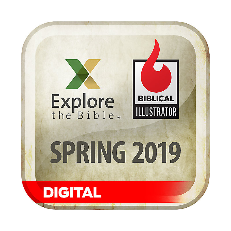 Biblical Illustrator for Explore the Bible - Spring 2019 - Digital