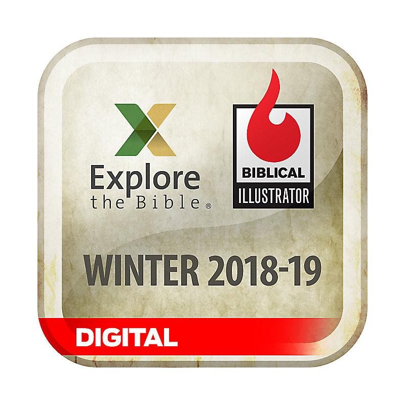 Biblical Illustrator for Explore the Bible - Winter 2019 - Digital