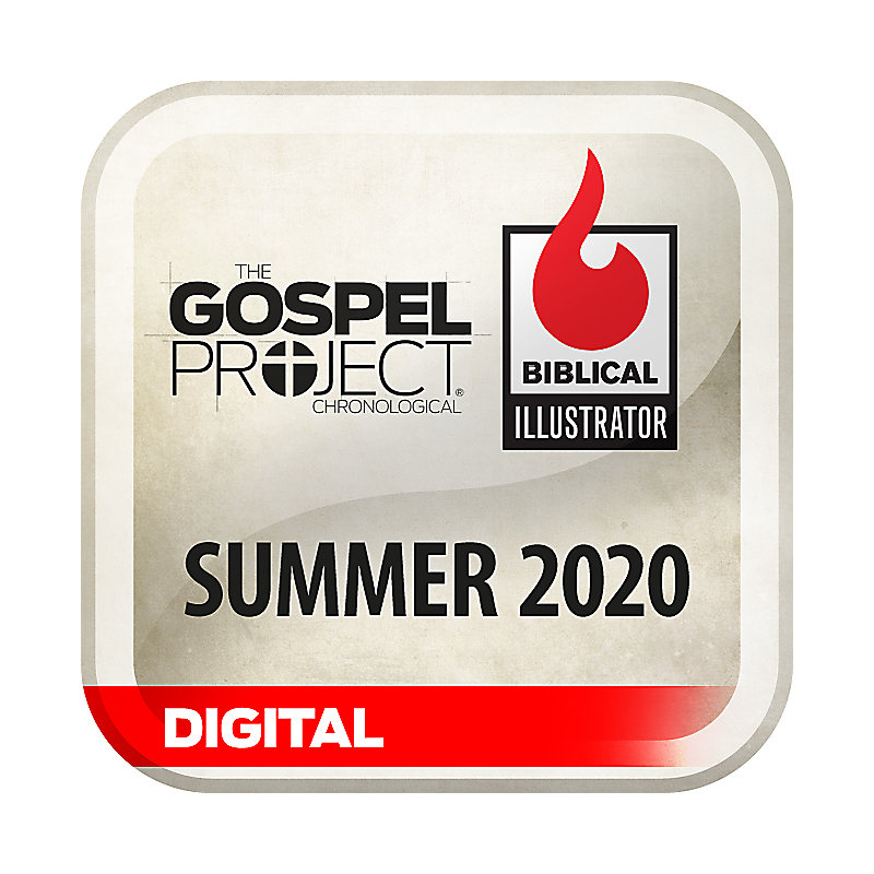 Biblical Illustrator for The Gospel Project - Summer 2020 - Digital