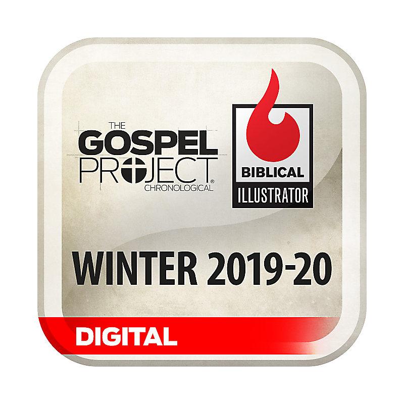 Biblical Illustrator for The Gospel Project - Winter 2020 - Digital
