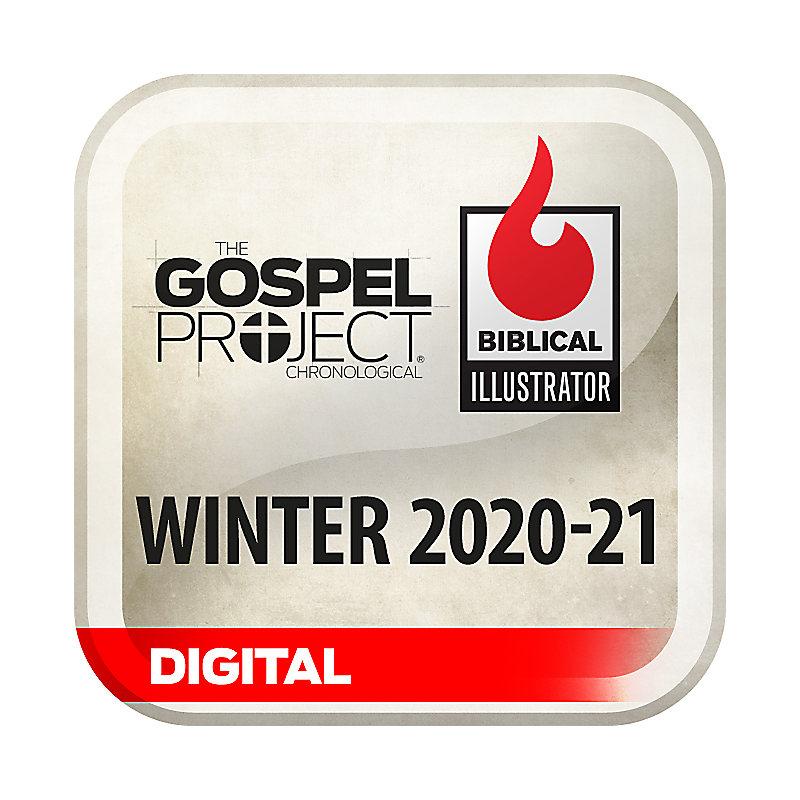 Biblical Illustrator for The Gospel Project - Winter 2021 - Digital