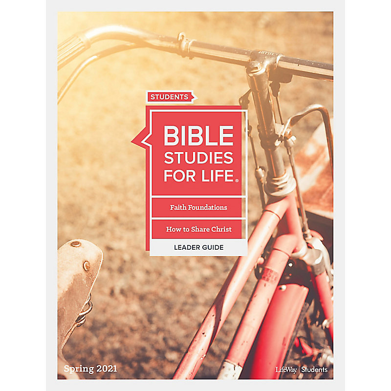 Bible Studies for Life: Students Leader Guide - KJV - Spring 2021