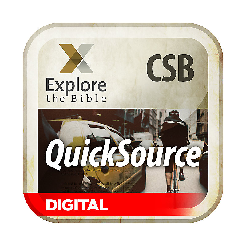 Explore the Bible: QuickSource for Leaders - Spring 2019 - Digital