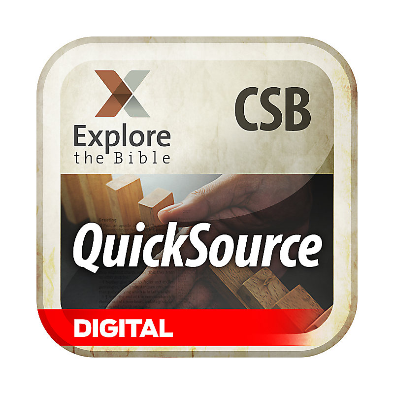Explore the Bible: QuickSource for Leaders - Summer 2019 - Digital