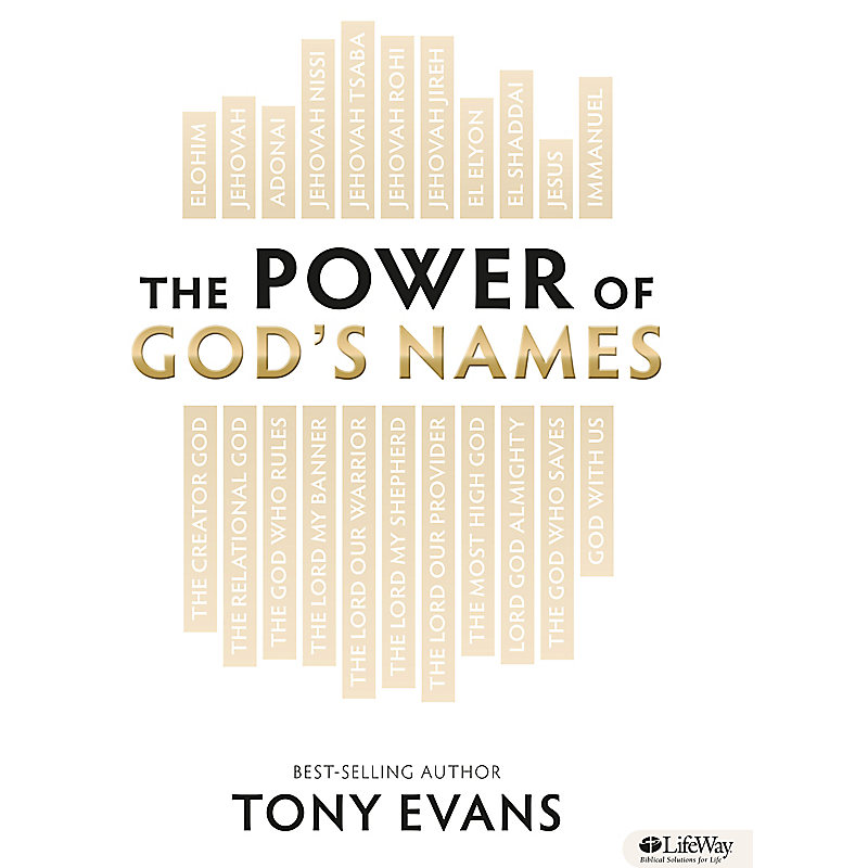 The Power of God's Names - Member Book