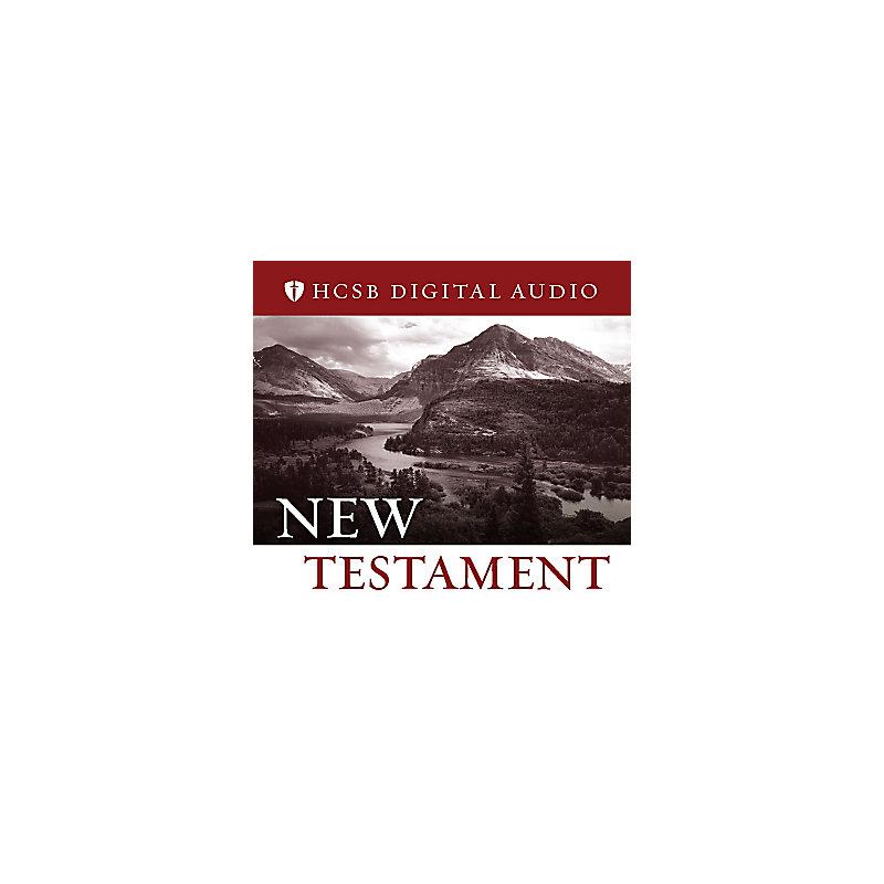 HCSB Digital Audio Bible: New Testament