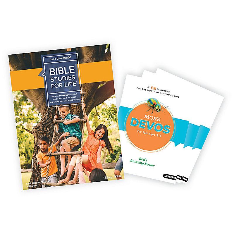 Bible Studies for Life: Kids Grades 1-2 Activity Pages/More Bundle Fall 2019