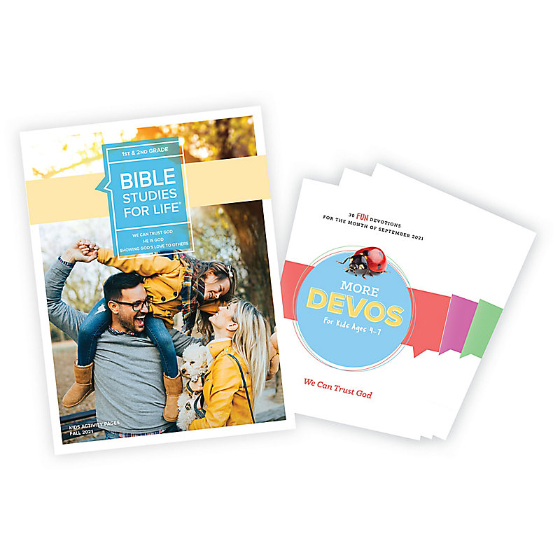 Bible Studies for Life: Grades 1-2 Activity Pages/More Bundle Fall 2021