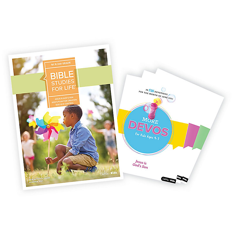Bible Studies for Life: Grades 1-2 Activity Pages/More Bundle Summer 2021
