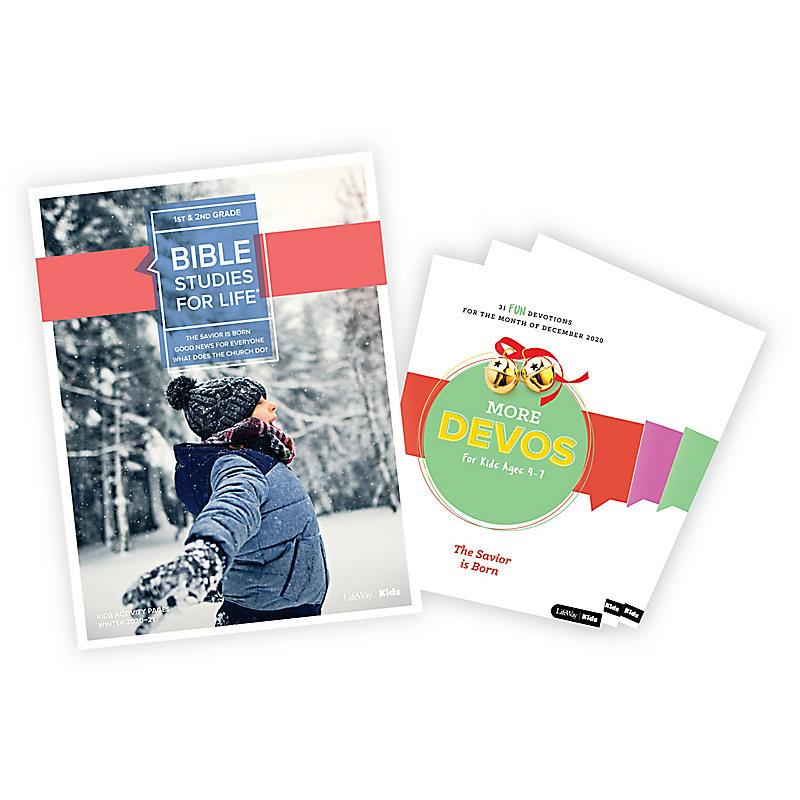 Bible Studies for Life: Grades 1-2 Activity Pages/More Bundle Winter 2021