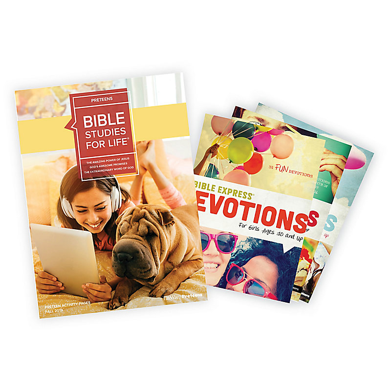 Bible Studies for Life: Preteen Activity Pages/Bible Express Bundle Fall 2019
