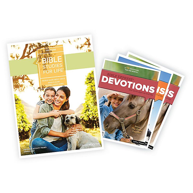 Bible Studies for Life: Preteen Activity Pages/Bible Express Bundle  Spring 2021