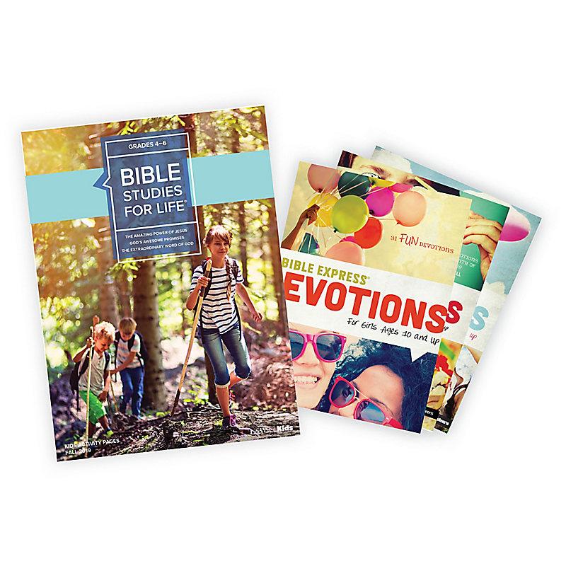 Bible Studies for Life: Grades 4-6 Activity Pages/Bible Express Bundle Fall 2019