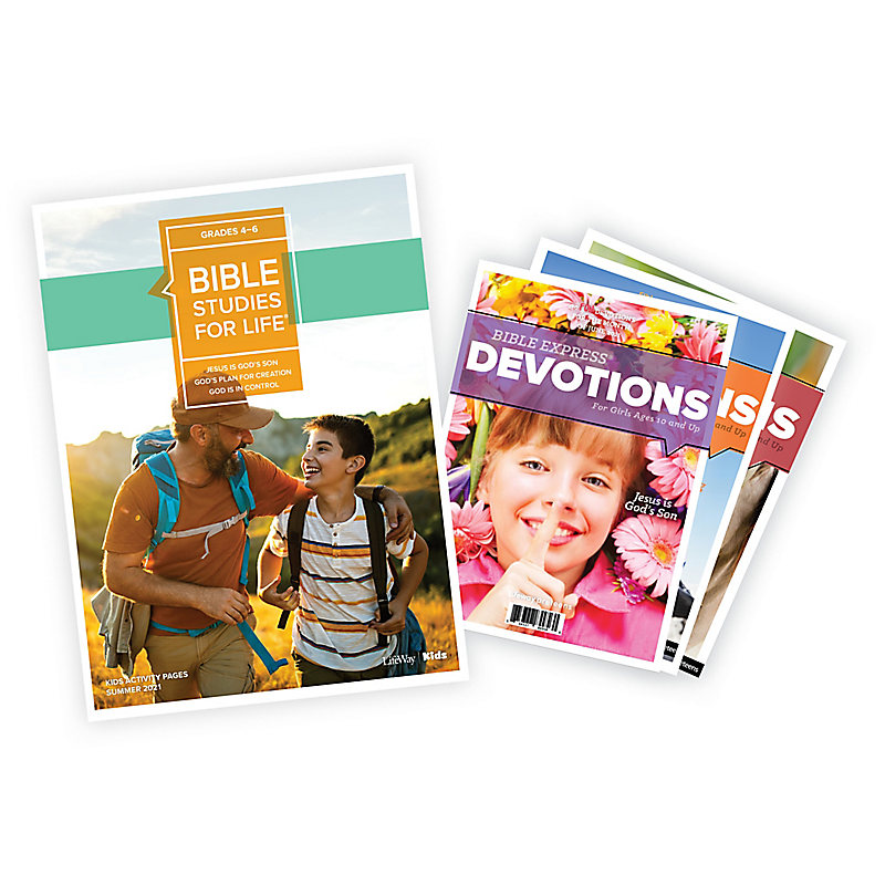 Bible Studies for Life: Grades 4-6 Activity Pages/Bible Express Bundle Summer 2021