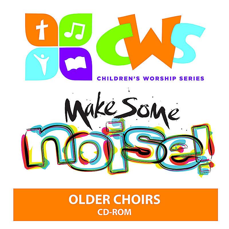 Children's Worship Series - Make Some Noise Older Choirs DVD-ROM