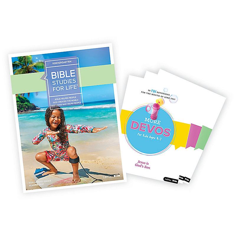 Bible Studies for Life: Kindergarten Activity Pages/More Bundle Summer 2021