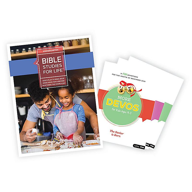 Bible Studies for Life: Kindergarten Activity Pages/More Bundle Winter 2021