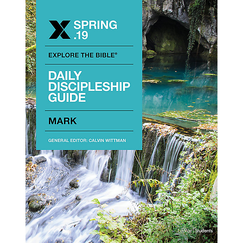 Explore the Bible: Students Daily Discipleship Guide - CSB - Spring 2019