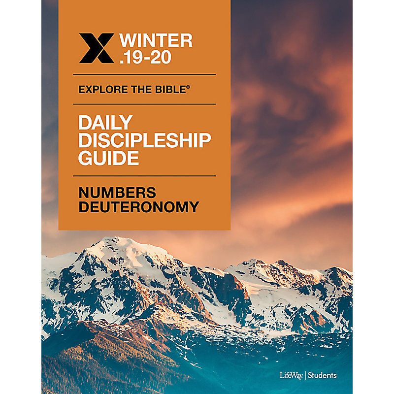Explore the Bible: Students Daily DIscipleship Guide - CSB - Winter 2020