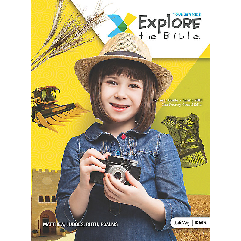 Explore the Bible: Younger Kids Explorer Guide - Spring 2018