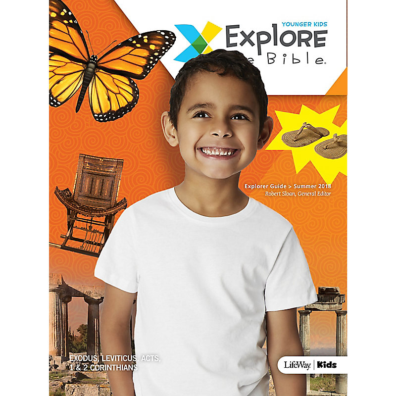 Explore the Bible: Younger Kids Explorer Guide Summer 2018