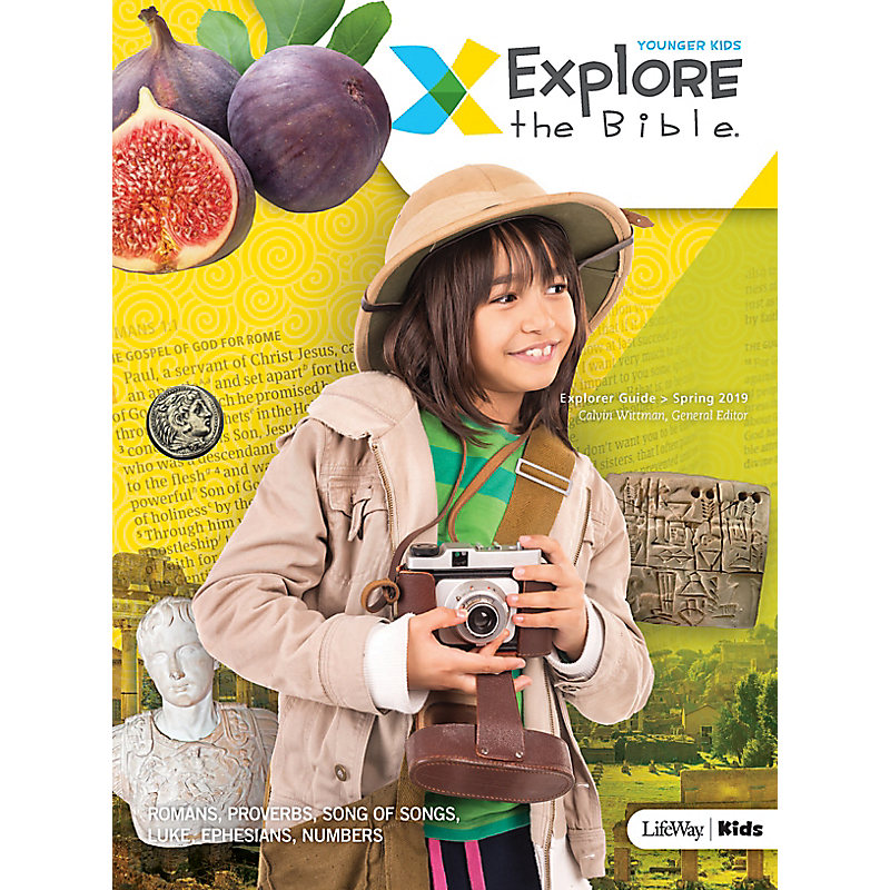 Explore the Bible: Younger Kids Explorer Guide - Spring 2019