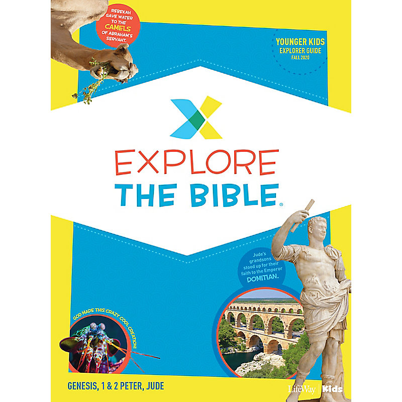 Explore the Bible: Younger Kids Explorer Guide - Fall 2020