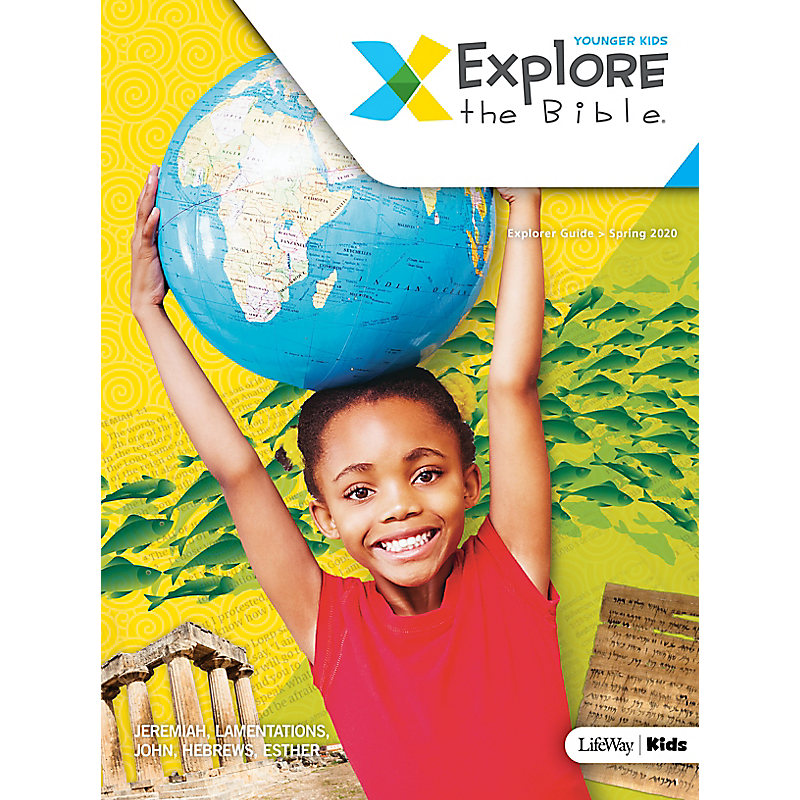 Explore the Bible: Younger Kids Explorer Guide - Spring 2020