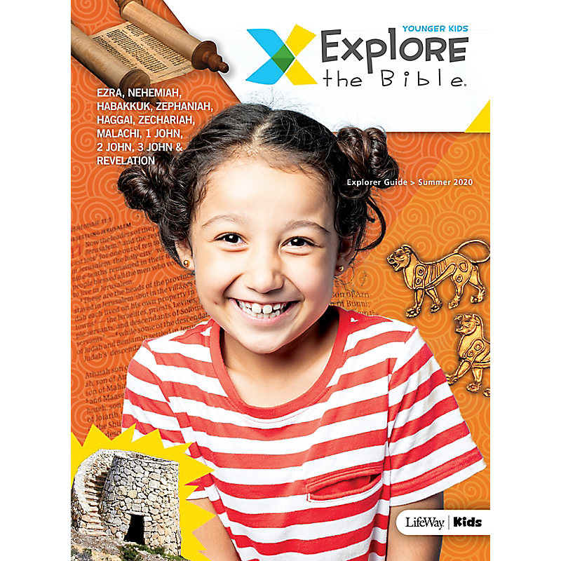 Explore the Bible: Younger Kids Explorer Guide - Summer 2020