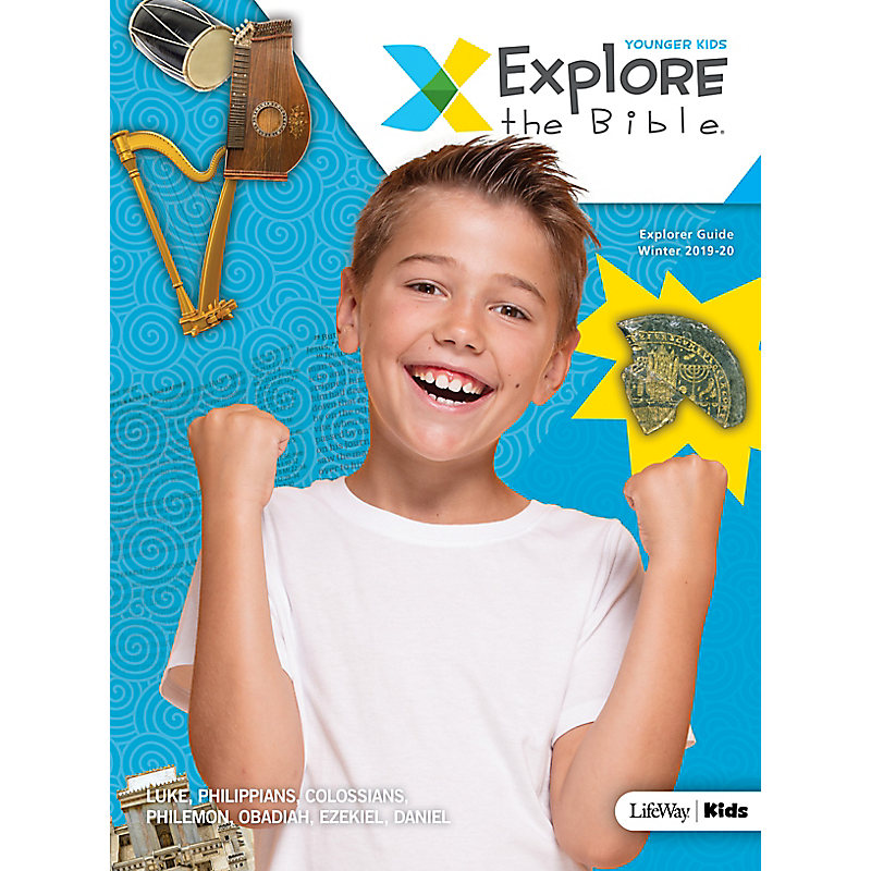 Explore the Bible: Younger Kids Explorer Guide - Winter 2020