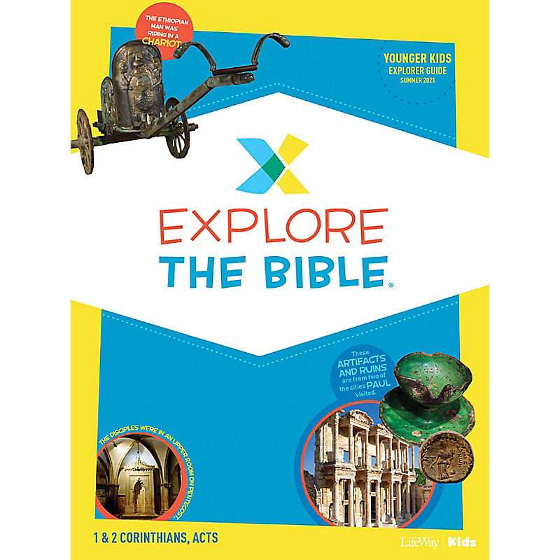 Explore the Bible: Younger Kids Explorer Guide - Summer 2021