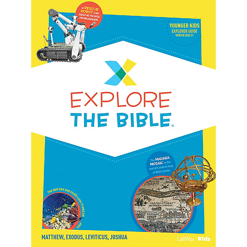 Explore the Bible: Younger Kids Explorer Guide - Winter 2021