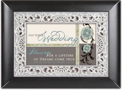 wedding album with frame mark 108 black