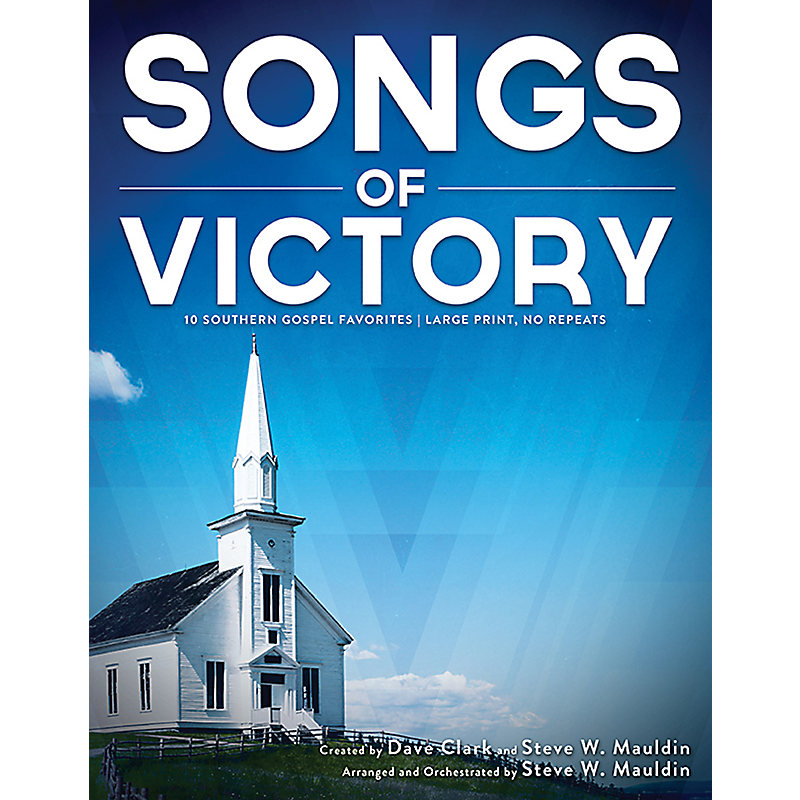 Songs of Victory - Choral Book